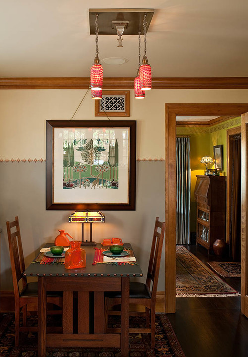 Eat In Craftsman Kitchen