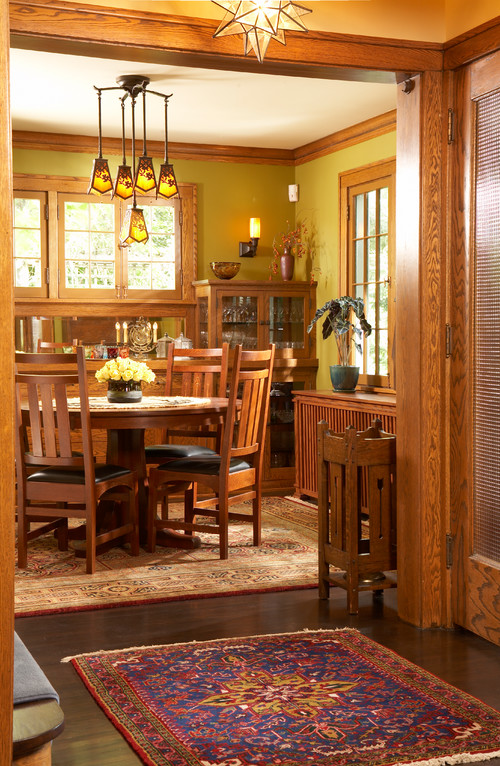 Warm and Inviting Craftsman Home