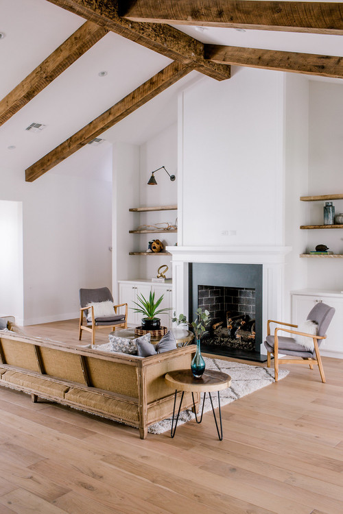 Minimalist Approach to Fixer Upper Style Living Room