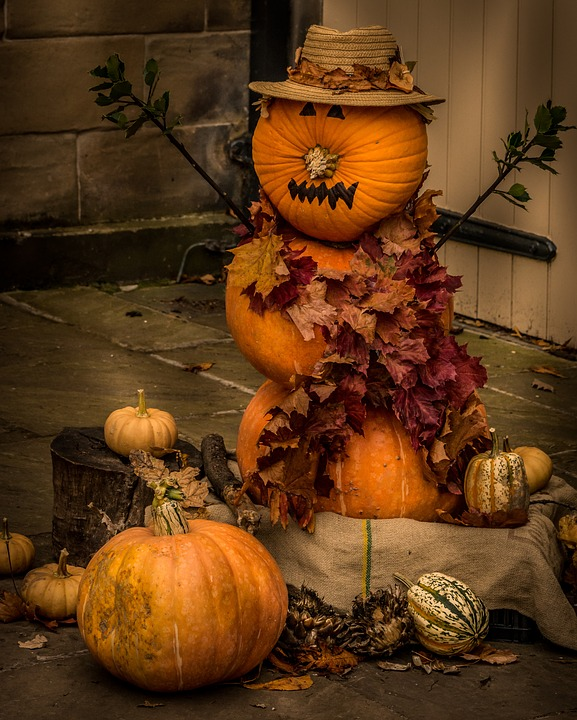DIY Halloween Pumpkin Man