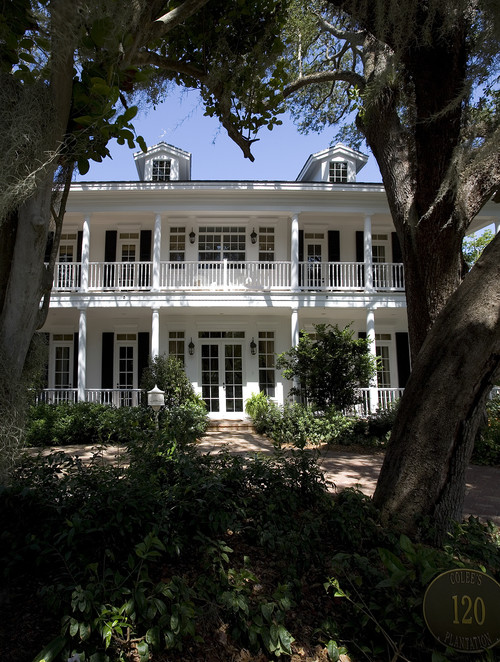 Plantation Home with Two-Story Porch