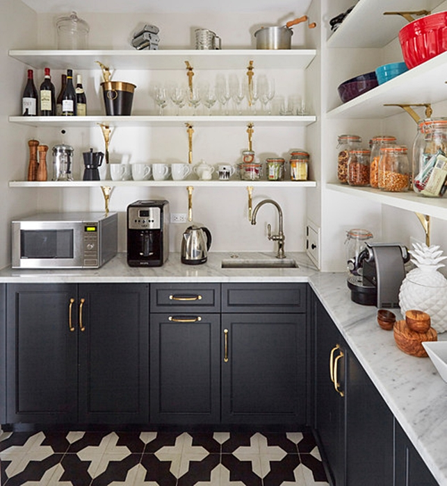 Kitchen Pantry in Chicago City Home
