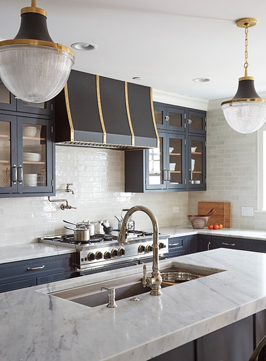 Custom Small City  Kitchen in Chicago