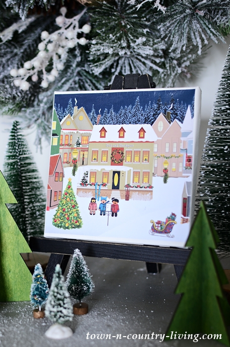 Christmas Printables to Make Christmas Canvas Prints