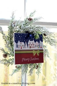 DIY Christmas Canvas Prints with Free Printables