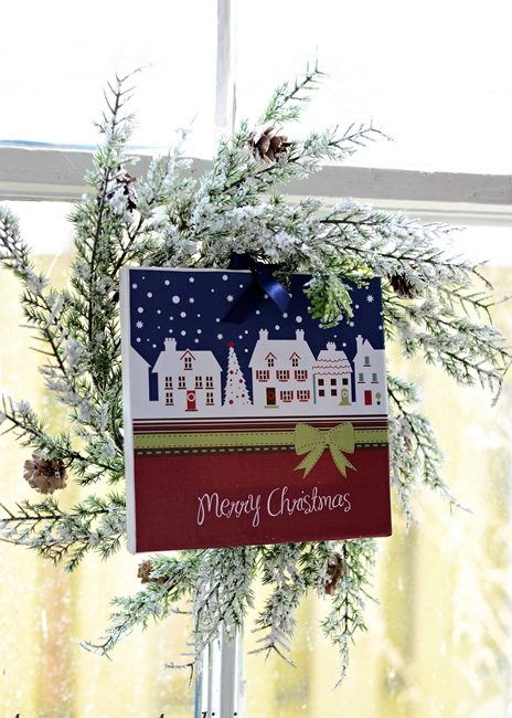 Hanging Christmas Canvas Prints