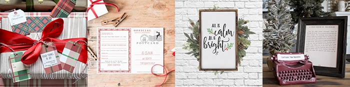 Free Christmas Printables Tour