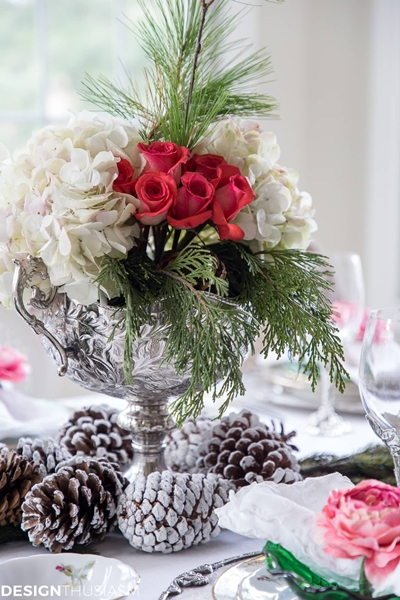 Christmas Table Setting by Designthusiasm
