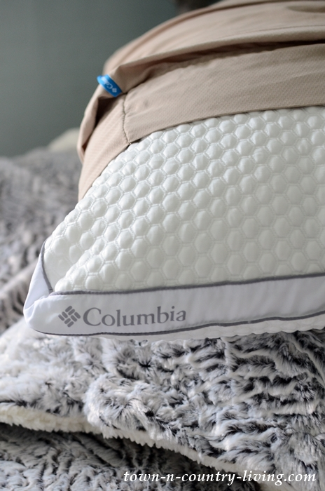 Columbia Cool Pillow for Sleeping Comfort