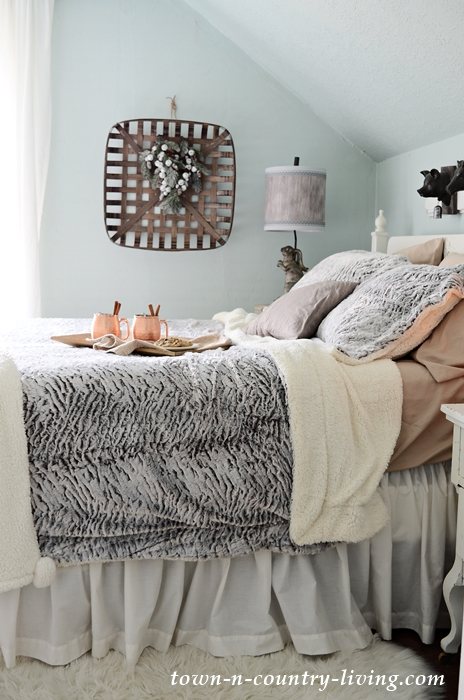 Create a Cozy Bedroom for the Holidays