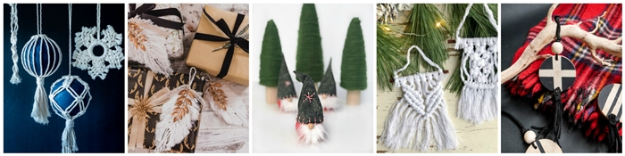 Seasonal Simplicity - DIY Christmas Ornaments