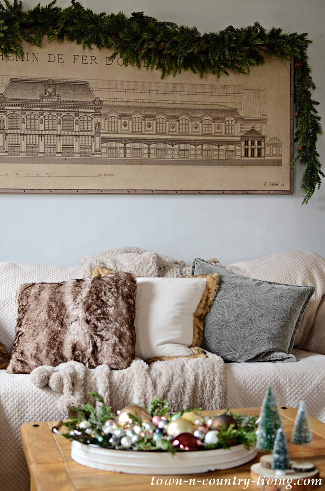 Embrace Winter with Faux Fur Decor