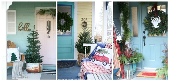 Christmas Porch Ideas