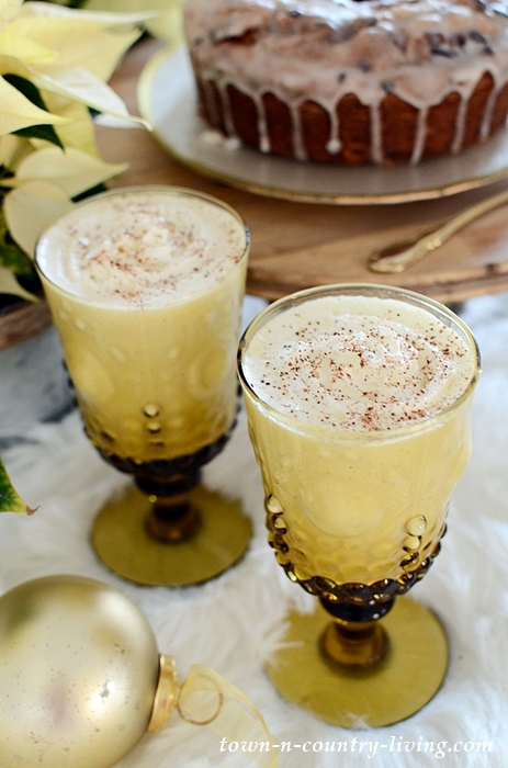 Homemade Eggnog for the Holidays
