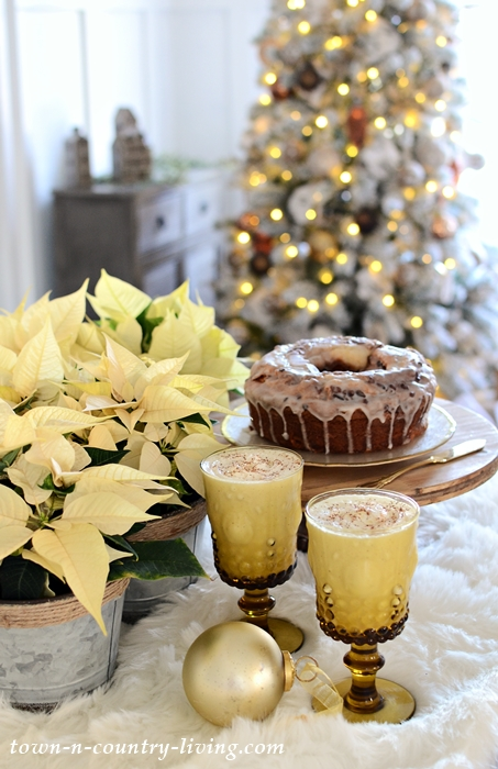 Classic Christmas Recipe of Homemade Eggnog