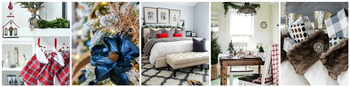 Seasonal Simplicity - Christmas Home Tours
