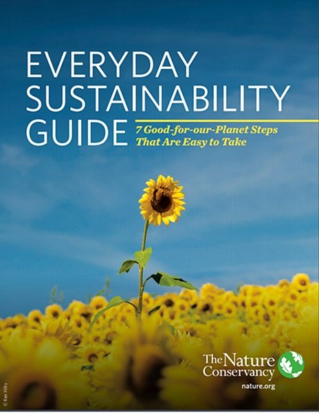 The Everyday Sustainability Guide from The Nature Conservancy