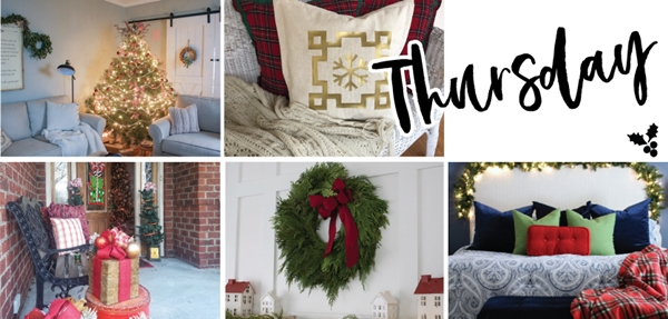 Farmhouse Christmas Home Tours