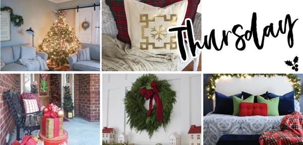 Farmhouse Christmas Home Tours