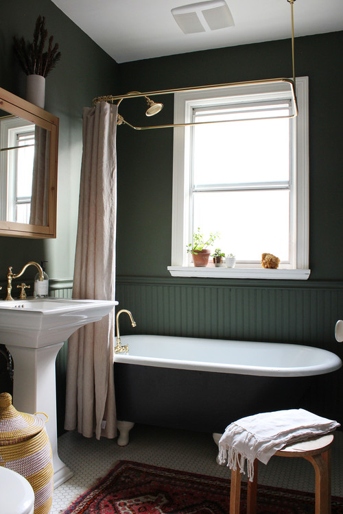 Decorate With Dark Green To Create Cozy