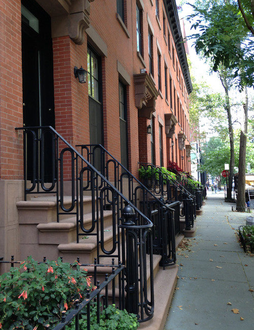Brooklyn Brick Row House