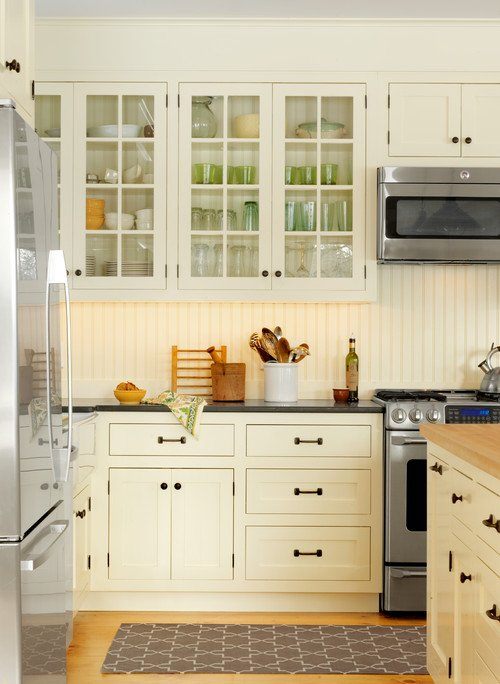 Traditional Kitchen with Bead Board