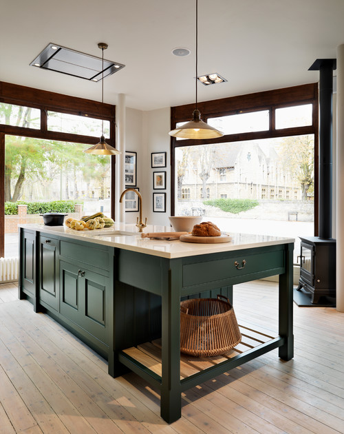 Decorate With Dark Green To Create Cozy Rooms Town Country Living
