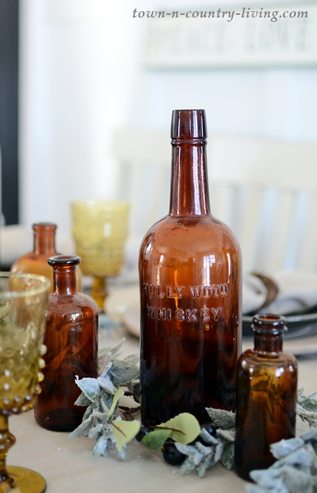 Vintage Hollywood Whiskey Bottle