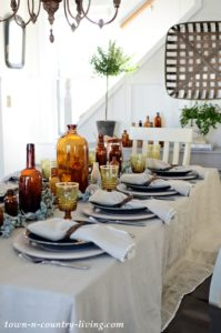 Create an Earthy Table Setting with Magic Linen
