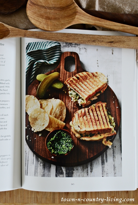 Panini Sandwich Recipe from Martina's Kitchen Mix