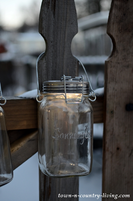Mason Jar SONNENGLAS Solar Lanterns
