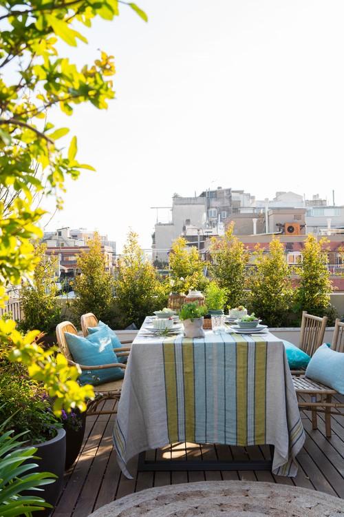 City Rooftop Terrace in Spain