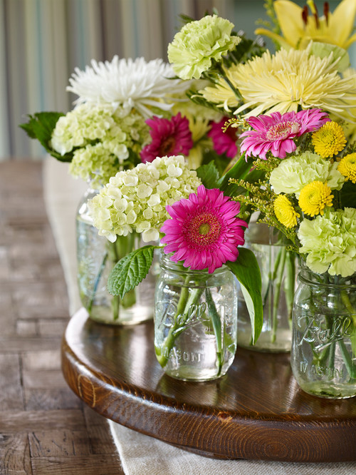 Decorating with Store Bought Flowers