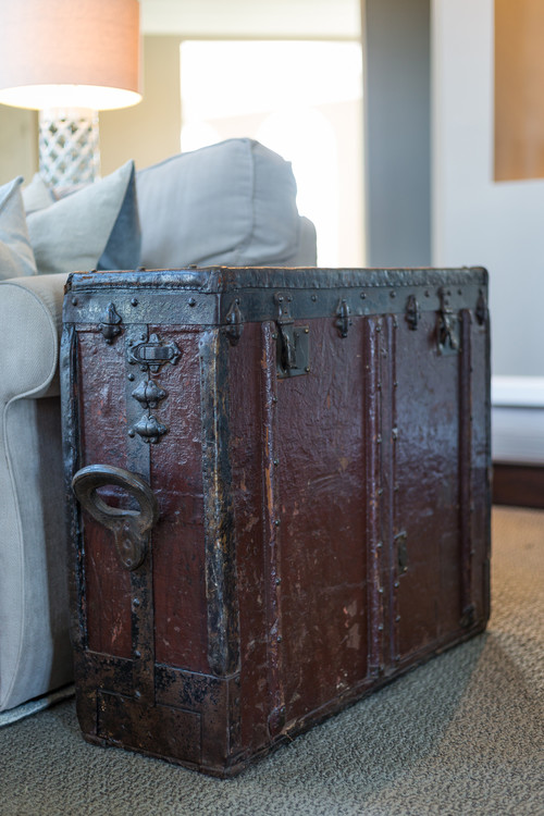 Unique Vintage Steamer Trunk