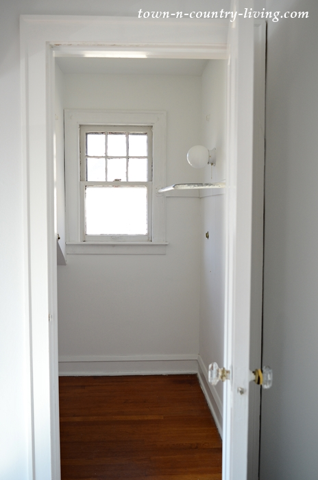 Master Bedroom Closet in Older Home