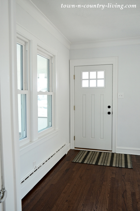 Entryway in Bungalow Style Home