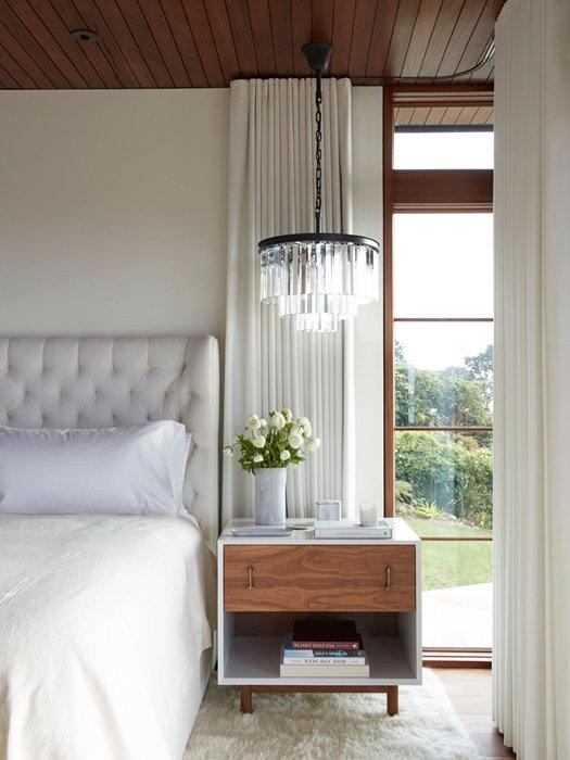 White and Cream Romantic Glam Bedroom