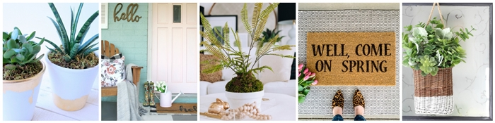 Seasonal Simplicity Spring DIY Decor
