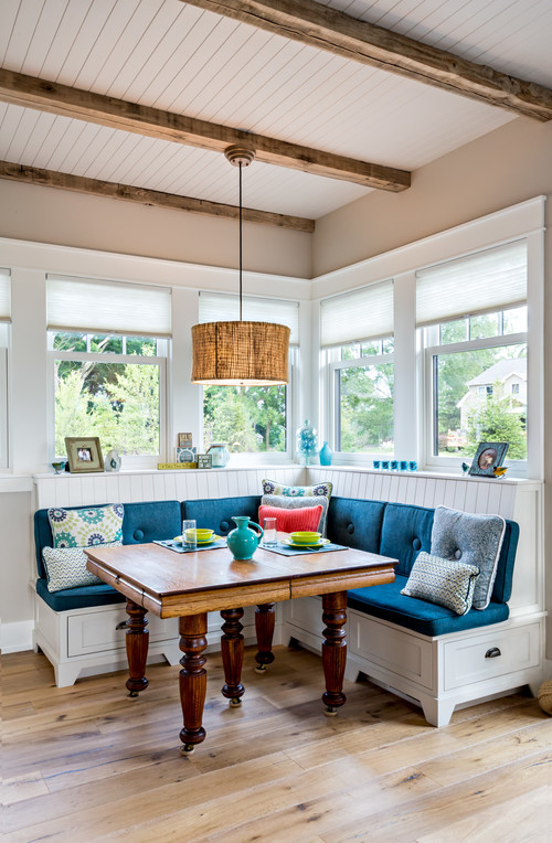 Coastal Style Dining Banquette
