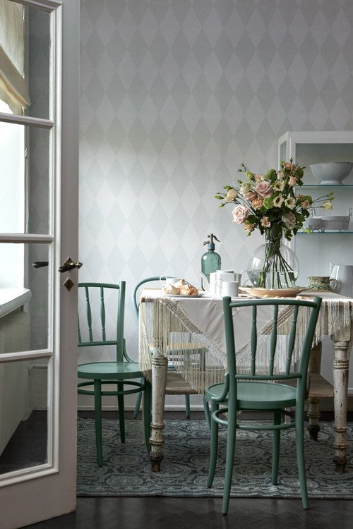 Shabby Chic Style Dining Room