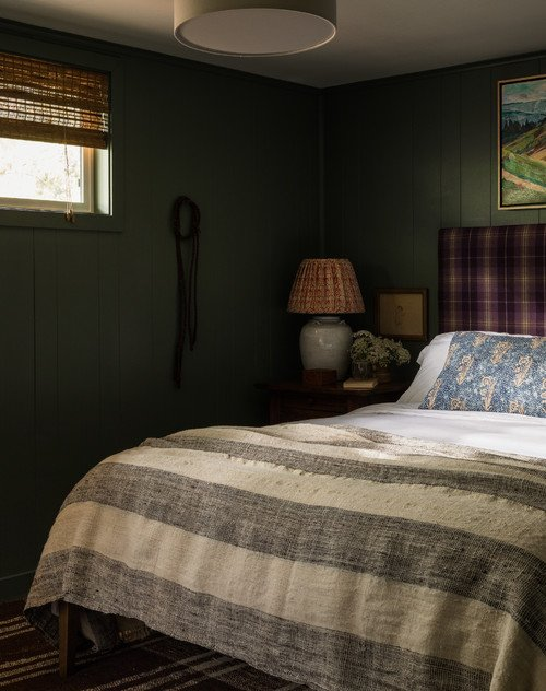 Rustic Cabin Home Bedroom