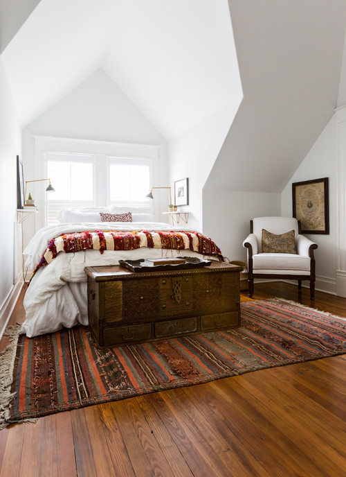Eclectic Southwestern Bedroom