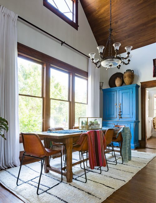 Eclectic Southwest Style Dining Room