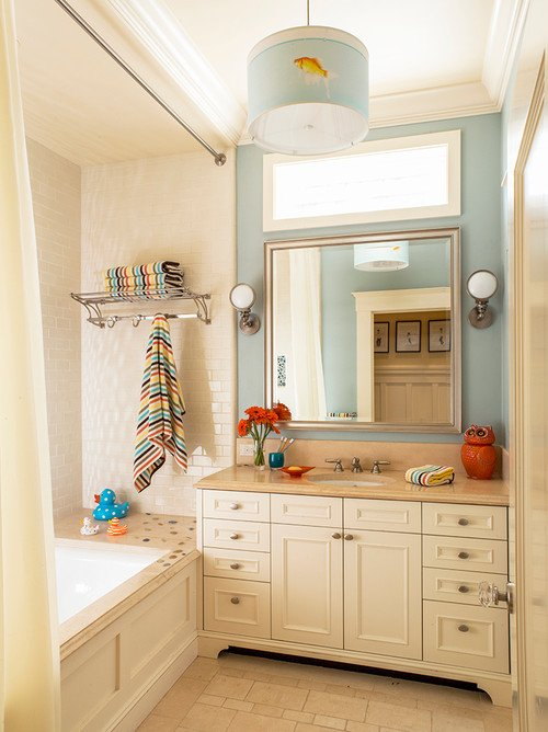 Bathroom Ideas - Swap Out Your Towels