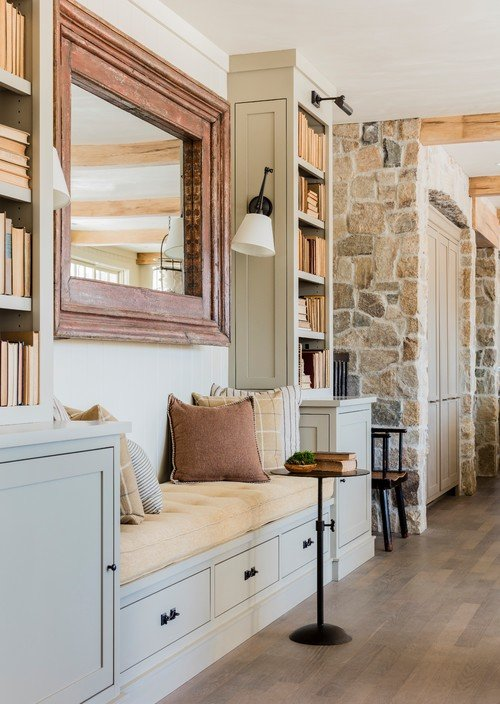 Built In Cabinetry In Historic Home