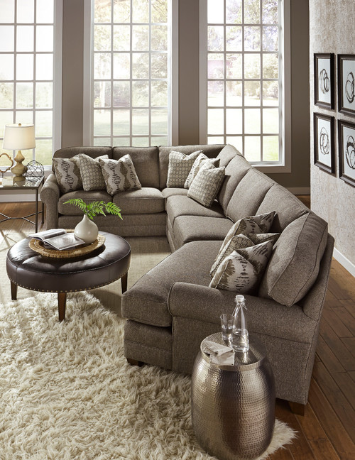 Theater Style Sectional Sofa