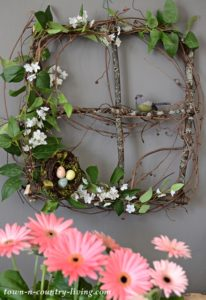 Branch and Vine Spring Wreath: How To