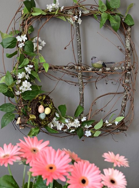 Branch and Vine Spring Wreath Tutorial