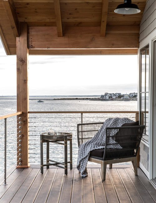 Waterfront Home with Breezy Balcony and Ocean Views