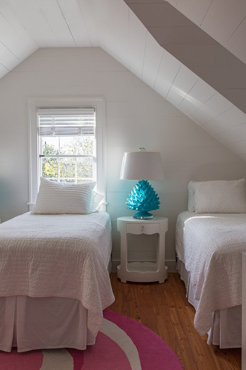 Island Beach Cottage Under-the-Eaves Bedroom